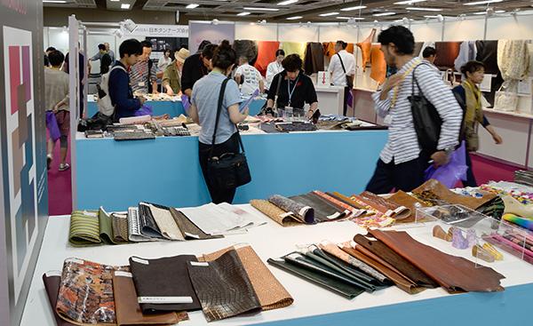 第93回「東京レザーフェア」12/3・4 都立産業貿易センター台東館にて開催