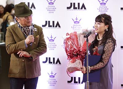 ドン小西氏とグランプリ受賞の宮瀬彩加さん
