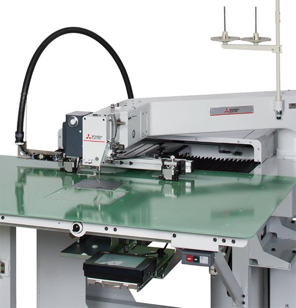 工業用ミシン及びFA-IT統合ソリューションを「大阪ミシンショー2019」で紹介/三菱電機