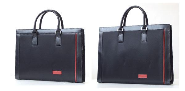 左:Microfiber Small Brief Bag(AA-MSBB) Size:40.0×30.0×8.5cm ¥33,000 右:Microfiber Large Brief Bag(AA-MLBB) Size:43.0×33.5×8.5cm ¥36,000