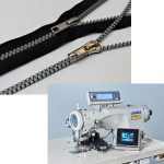 JUKI、YKKの共同開発 テープのない新ファスナー「AiryString™」と専用ミシン
