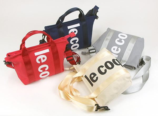 新たな生活様式を落とし込んだ特大ロゴデザインが人気のシリーズ/le coq sportif